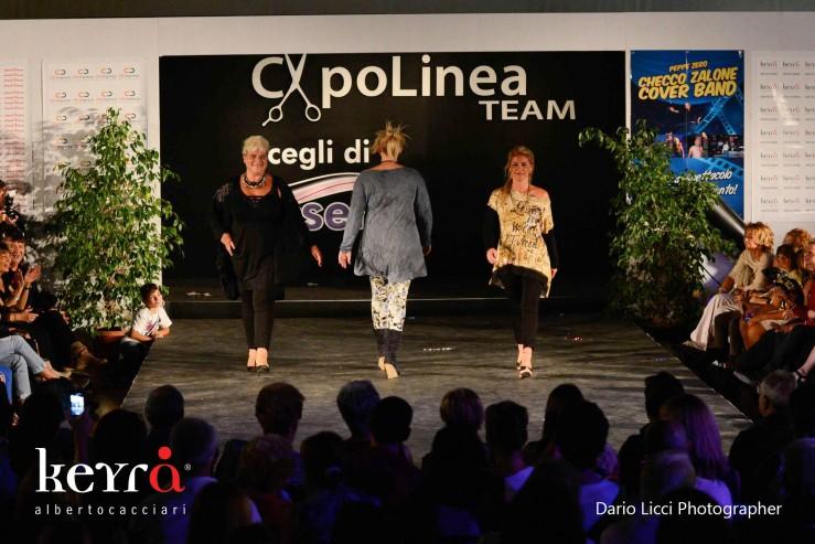 Keyrà CapoLinea Team sfilata Roma 2013