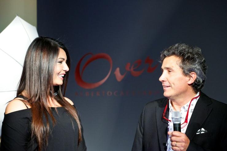 Elisa D'Ospina con Alberto Cacciari