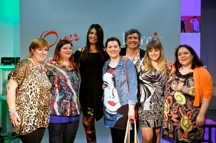 ALberto Cacciari con le Blogger